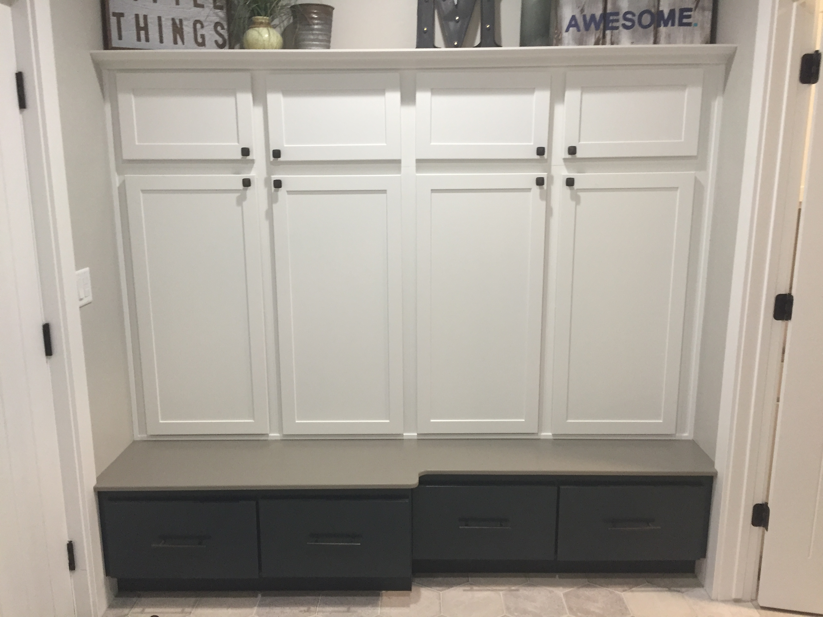 Utility Room Cubby